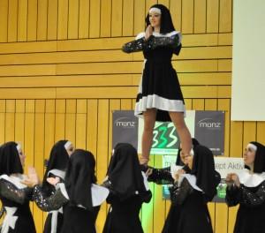"Die Tanzgruppe ""Wake-Upper"" vom TuS Ahrbach"