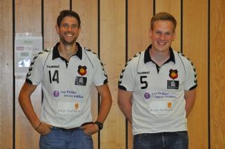 Die Jungs von der Theke: Andreas Schmidt und Michael Schmitz