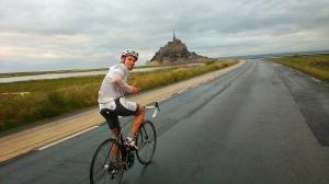 Auf dem Weg zum Mont Saint-Michel
