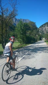 Marcel. Kurz bevor es auf den Col d'Ornan hinaufgeht