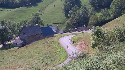 Marcel von oben fotografiert