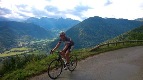 Fabian auf dem Weg zum La Horquette d'Ancizan