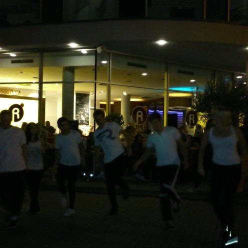 Ein toller Beitrag in Form eines Tanzes von Schülern der BBS Montabaur